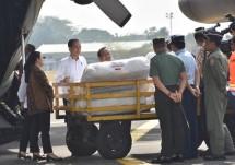 Presiden Jokowi melepas bantuan untuk Rohingya (Foto Setkab)