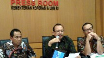 Secretary of the Ministry of Cooperatives and SMEs, Agus Muharram (Ahmad Fadli / INDUSTRY.co.id)