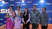 The launch of the latest Casio Mystyle series Calculator which has Colorful and Stylish variants. (Photo: IST)
