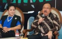 Anggota Komisi I DPR RI Mayjen TNI (Pur) Supiadin Aries Saputra- Dr Connie Rahakundini Bakrie (Foto Ist)