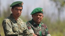 President Jokowi and TNI Commander Gatot Nurmantyo (Military Special Photos)
