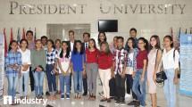 Mahasiswa President University dari Timor Leste