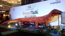 Komodo Bread BreadTalk Creation Break MURI Record