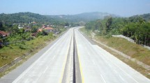 Construction of toll road (Ist)