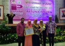 PT Patuna Mekar Jaya or Patuna Travel, hajj and umrah travel agency held a Major Meeting of Prospective Hajj Pilgrims in 2018-2025 at Manggala Wanabakti building on Sunday (15/10/2017).