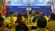 The Turkish news agency Anadolu Agency is developing an international wing with an Indonesian news service on Monday evening (23/10/2017) in Jakarta