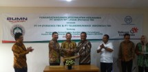 PT Semen Baturaja Cooperates with PT PP-PT Telkom to Support Infrastructure Industry (Foto Ist)