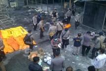 Ilustrasi kebakaran gudang (Foto Ist)