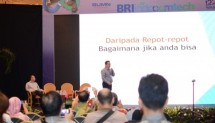 PT Bank Rakyat Indonesia Tbk Siap Terbitkan 2 Juta kartu Brizzi Berseri Asian Games 2018