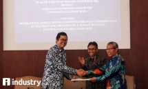 PT BTN Tbk -MM UGM Yogyakarta for the development and research of property training and consulting programs to support HFC services. (Foto Rizki Meirino)