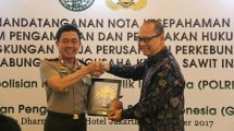 Penandatanganan Nota Kesepahaman (MoU) antara Polri dan Gabungan Pengusaha Kelapa Sawit Indonesia (GAPKI)