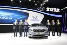 the launch of Hyundai All New Sonata in Beijing China (images by ChinaDaily)