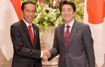 President Jokowi and Japanese Prime Minister Shinzo Abe (Foto Ist)