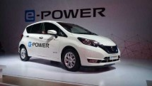 Nissan Note e-Power, a car that uses an electric motor with power from a lithium ion battery on board