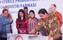 Menperin Airlangga inaugurated the Pharmaceutical Factory in Cikarang Bekasi