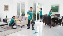 KliknClean cleaning services for clean up the apartment, house online.