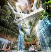 Grand Shamaya 'Water Fall' Project PT PP Property (dok INDUSTRY.co.id)