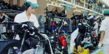Honda motor factory (photo Kompas.com)