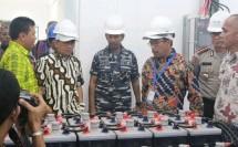 peresmian tempat Pembangkit Listrik Tenaga Surya (PLTS) di Pulau Karampuang (dok INDUSTRY.co.id)