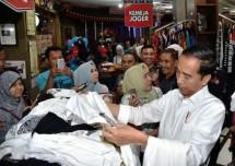 Presiden Jokowi kunjungi Joker Bali (Foto Setkab)