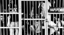 Ilustrasi narapidana. (Foto: IST)