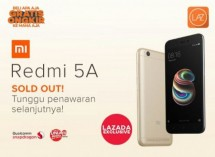 Redmi 5A Sold Out In Three Minutes (Foto Dok Industry.co.id)