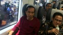 President Joko Widodo Inaugurates the Soekarno-Hatta Airport Railway