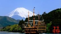 Hakone City, Sightseeing Cruise on Lake Ashi, Mount Fuji, Japan (ist)