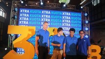 XL Axiata saat Press Conference Xtra Kuota 30GB. (Foto/Dina Astria)