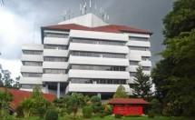 Gedung Rektorat Universitas Hasanuddin Makassar. (Foto Ist)