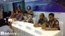 Penandatanganan Sindikasi Pembiayaan Proyek Palapa Ring Timur (Hariyanto/ INDUSTRY.co.id)