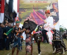 President Joko Widodo at Sumba NTT Event