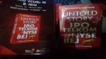 Buku Untold Story IPO Telkom di NYSE dan BEJ