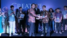 Miftahudin Nur Ihsan was awarded the Youth Creative Competition program organized by UNESCO Jakarta and Citi Indonesia.