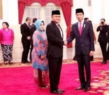 Presiden Jokowi dan Kepala BNN Heru Winarko (Foto Setpres)