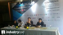 Megabuild Indonesia 2018 press conference (Hariyanto / INDUSTRY.co.id)