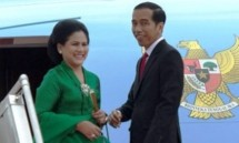 Presiden Jokowi dan BJ Habibie (Foto Setkab)Presiden Jokowi dan Ibu Iirana (Foto Setkab)