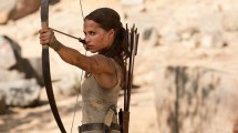 Alicia Vikander in the movie 'Tomb Raider'. (YouTube Docs)
