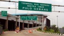 Pulo Gebang bus terminal Jakarta (Photo Dok Industry.co.id)