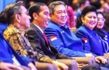 Presiden Jokowi dan Ketum Partai Demokrat SBY (Foto Dok Industry.co.id)