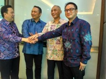 The signing of a Memorandum of Collaboration (MoC) between Pelindo III and three companies, namely Muria Sumba Manis PT, PT Sriboga Flour Mill, and PT Indonesia Bulk Terminal.