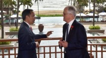 Presiden Jokowi-PM Australia Malcolm Turnbull Foto Setkab)
