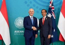 President Jokowi and PM Australia PM Turnbull (Photo (Photo: BPMI)