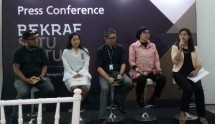 Press Conference Bekraf Satu Pintu