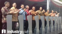 Groundbreaking Trans Park Bintaro (Hariyanto / INDUSTRY.co.id)