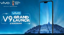 Grand launching vivo v9