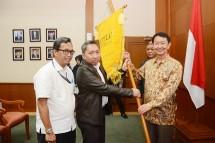 Dirjen ILMATE Kemenperin Harjanto bersama Ketua Umum GIPELKI Eric Wijaya