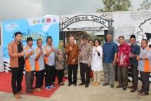 Sugiono saat hadir pada acara Launching Agroeduwisata Kampung Susu SPR Bangkit Bersama Desa Kalipucang, Kecamatan Tutur Kabupaten Pasuruan. (Dok Industry.co.id)