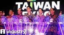 Pembukaan Taiwan Expo 2018 (Herlambang/INDUSTRY.co.id)