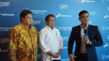 Menperin Airlangga Hartarto with Menkominfo Rudiantara (Photo: Doc. Industry.co.id)